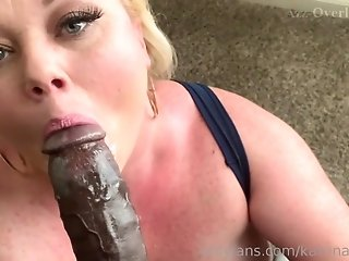 Hot Blond Whore Katrina Blacked Out - interracial