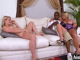 Pretty Girls Have Fun With A Black Guy - samantha lee